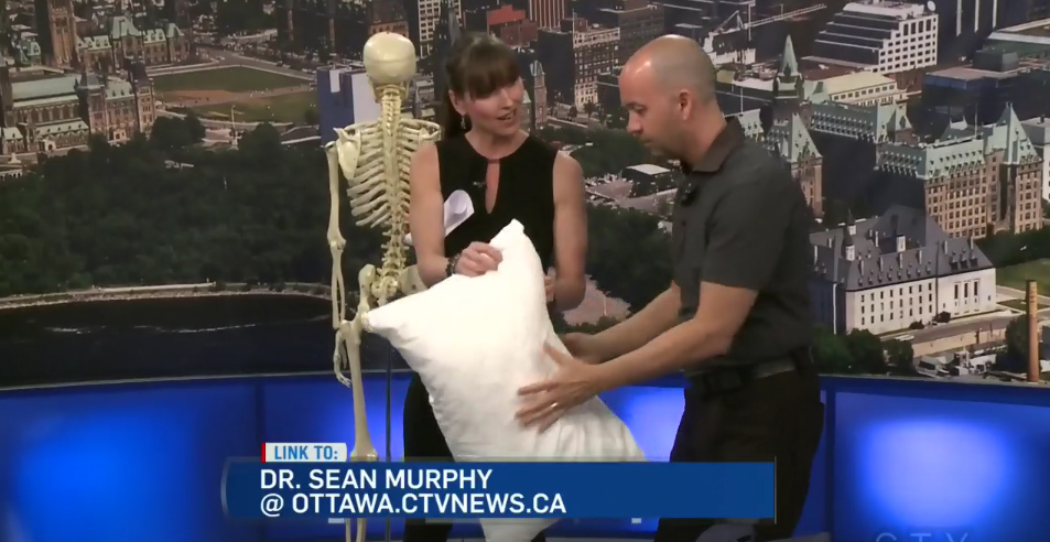 CTV Ottawa News at Noon Video – with Dr. Sean Murphy & Leanne Cusack: The Best Sleep (1)…