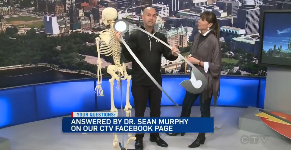 CTV Ottawa News at Noon Video – with Dr. Sean Murphy & Leanne Cusack: Halloween