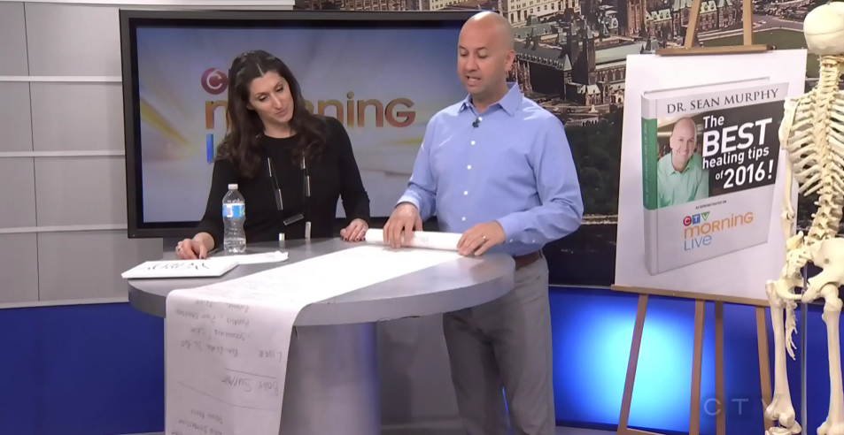 CTV Ottawa Morning Live Video – with Dr. Sean Murphy & Lianne Laing: Healing Tips