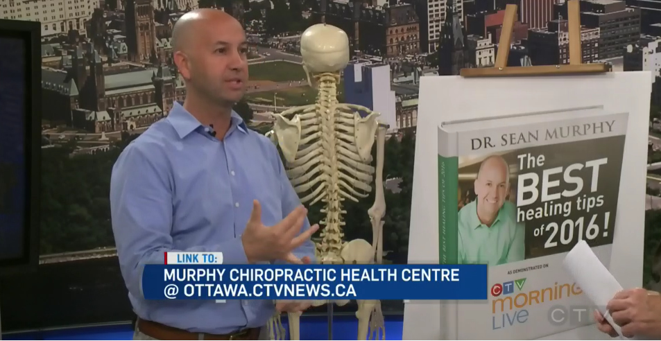 CTV Ottawa News at Noon Video – with Dr. Sean Murphy & Michael O'Byrne: Healing Tips