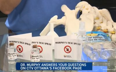 CTV Ottawa News at Noon Video with Dr. Sean Murphy & Leanne Cusack: Natural Tick Spray