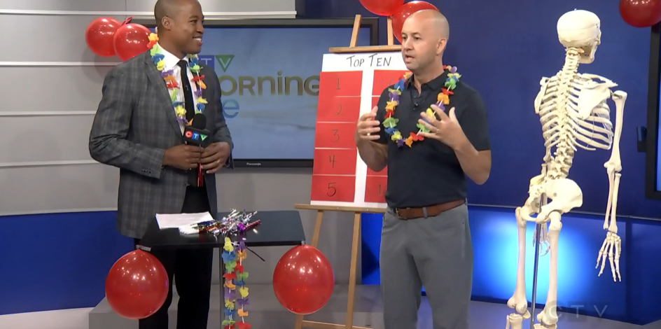 CTV Ottawa Morning Live Video – with Dr. Sean Murphy & Henry Burris: Top 10 Back to School Tips