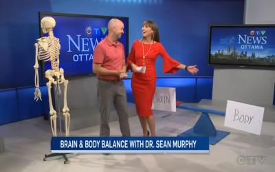 CTV Ottawa News at Noon Video with Dr. Sean Murphy & Leanne Cusack: Brain and Body Balance