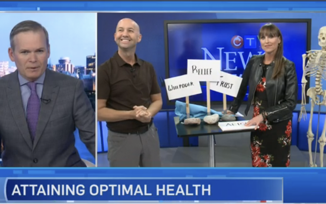 CTV Ottawa News at Noon Video with Dr. Sean Murphy & Leanne Cusack: ABCs of Natural Healing
