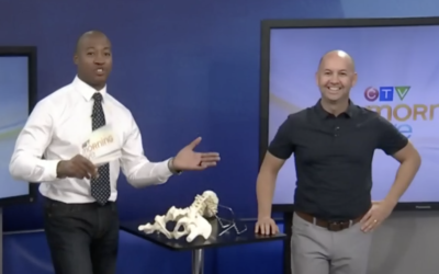 CTV Ottawa Morning Live Video – with Dr. Sean Murphy & Henry Burris: Watch Your Back