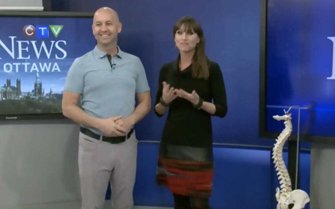 CTV Ottawa News at Noon Video with Dr. Sean Murphy & Leanne Cusack: Best Bed Posture