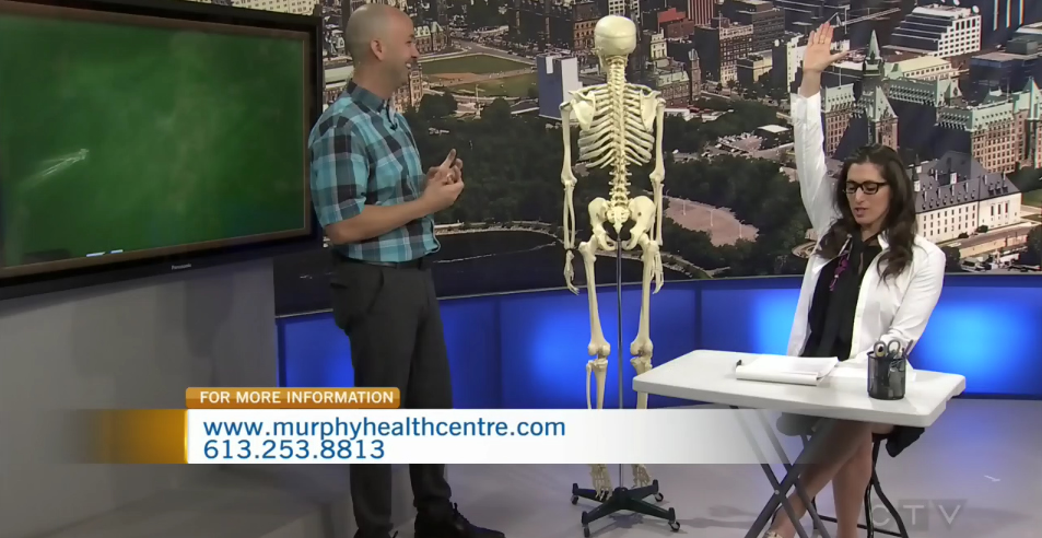 "CTV Ottawa Morning Live Video – ""Ask The Expert"" Questions with Dr. Sean Murphy: Childhood Injuries that Affect your Life (1)…"