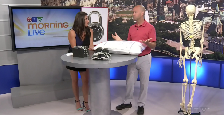 CTV Ottawa Morning Live Video – with Dr. Sean Murphy & Lianne Laing: Sleep