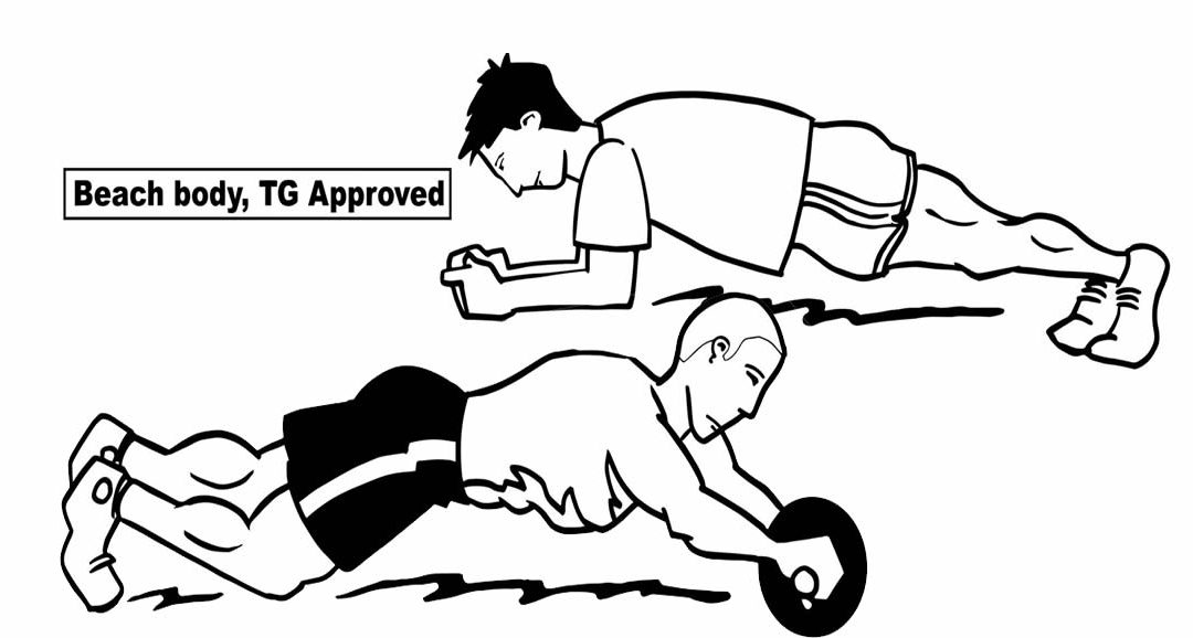 Are Your Ab Crunches Causing You to Have a Spare Tire?  Change to This Exercise Today!