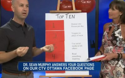 CTV Ottawa News at Noon Video with Dr. Sean Murphy & Leanne Cusack: Back to School